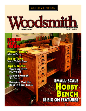Woodsmith Magazine Guild Edition - Junejuly 2015