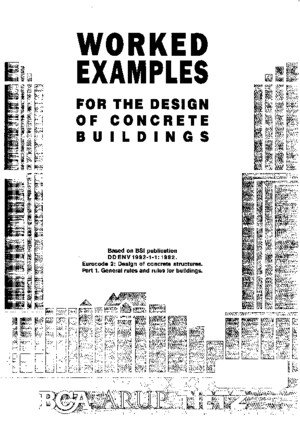Worked Examples for the Design of Concrete Buildings ECpdf