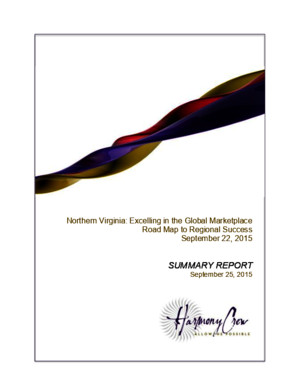 Workforce Roundtable Report - NoVA Roadmap to Success Report