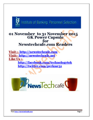 Wwwnewstechcafecom November 2015 GK Capsule Download