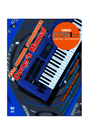 Yamaha Cs1x Owners Manual