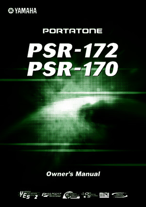 Yamaha PSR E413 Owners Manual