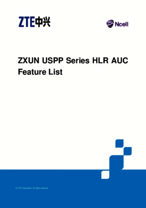 Zxun Uspp Series Hlrauc Feature List_v4