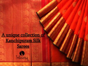 A unique collection of Kanchipuram Silk Sarees