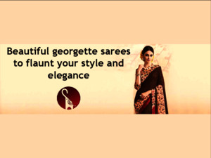 Beautiful Georgette sarees collection to flaunt your style and elegance