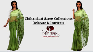 Chikankari saree collections - Delicate & Intricate
