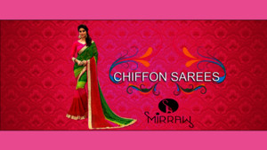 Pure Chiffon Sarees To Give Yourself A Different Look On Any Occasions