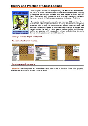 Alexander Panchenko - Theory and Practice of Chess Endings Convekta