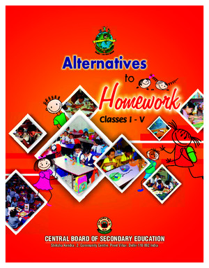 Alternative to Homework (English)