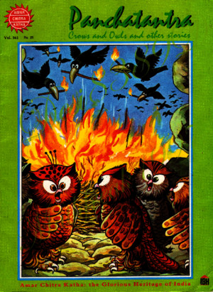 Amar Chitra Katha Vol 561 Panchatantra Crows and Owls and Other Stories