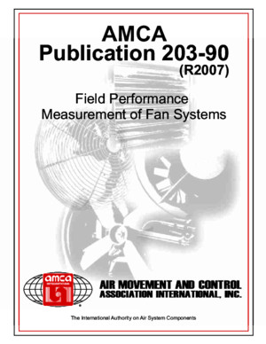 AMCA Publication 203 R2007
