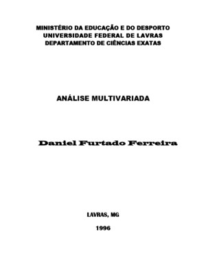 analise multivariada