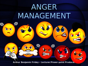 Anger management tips