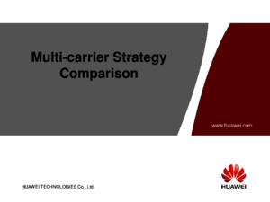 Annex 2-Multi-carrier Strategy Comparisonppt