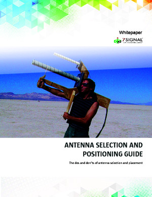 Antenna selection-and-positioning-guide