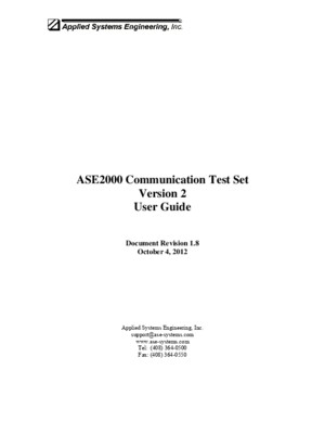 ASE2000 V2 User Guide
