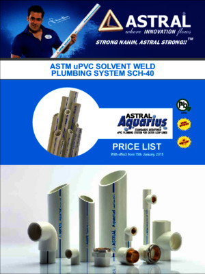 Astral Cpvc Pipes and Fittings Pricelist