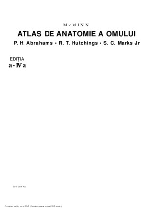 Atlas de Anatomie by MDD