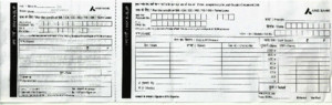 Axis Bank Deposit Slip
