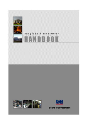 Bangladesh Investment Hand Book 2007