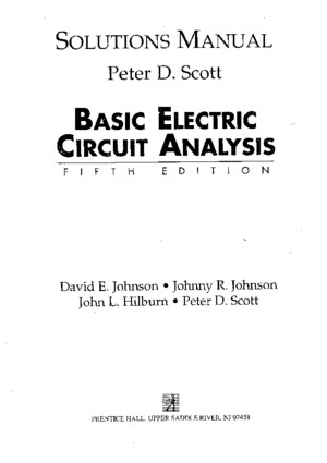 Basic Electronc Circuit Analysis