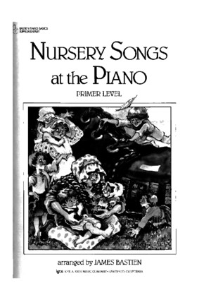 Bastien - Nursery songs at the Piano - Primer Levelpdf