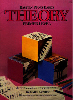 Bastien Piano Basics - Theory - Primer Level