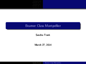 Beamer Class Example8 Montpellier