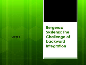 Bergerac Systems