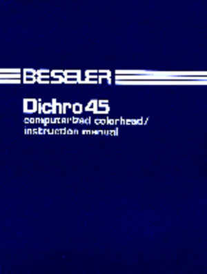 Beseler Dichro 45 Color Head