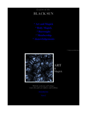 BlackSun William Burroughs