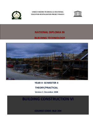 BLD 204 Building Construction III Combinedpdf