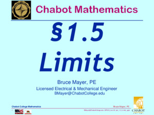 BMayerChabotCollegeedu MTH55_Lec-44_sec_7-5_Rationalize_Denomsppt 1 Bruce Mayer, PE Chabot College Mathematics Bruce Mayer, PE Licensed Electrical &