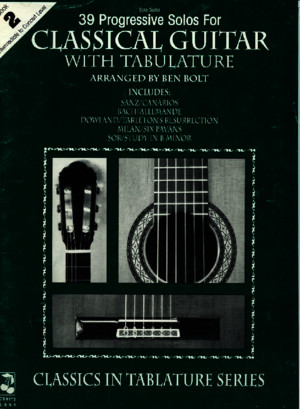 BOOK - 39 Progressive Solos for Classical Guitar Book 1