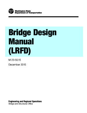 Bridge Design Manual -LRFD