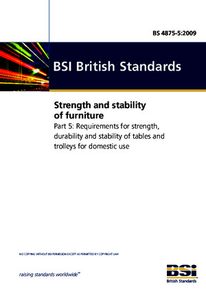 BS 4875-7-2006 Strength and stability of furniturepdf