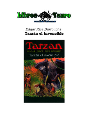 Burroughs, Edgar Rice - 8 Tarzan El Terrible
