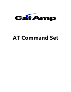 CalAmp at Command Set 2010-11-14