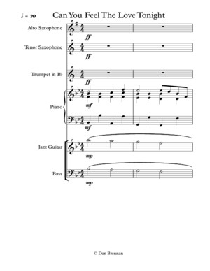Can You Feel The Love Tonight - score and parts (1)pdf