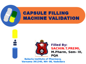 Capsule Filling MC Validation