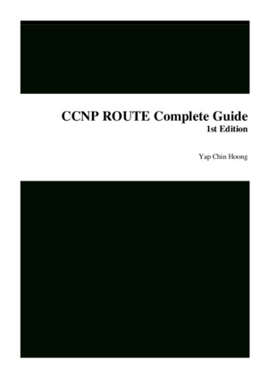 CCNP ROUTE Complete Guide 1st Edition