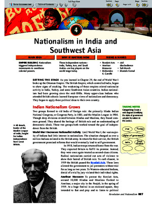 Ch 30 Sec 4 - Nationalism in India and Southwest Asiapdf