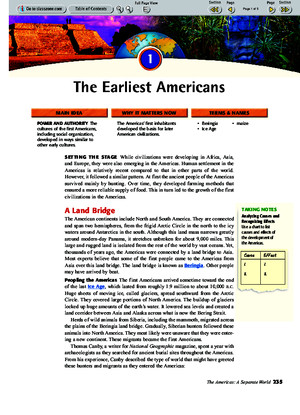 Ch 9 Sec 1 - The Earliest Americanspdf