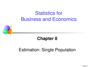 Chap 21-1 Statistics for Business and Economics, 6e © 2007 Pearson Education, Inc Chapter 21 Statistical Decision Theory Statistics for Business and Economics