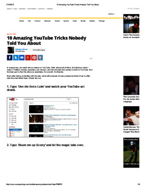 10 Amazing YouTube Tricks Nobody Told You About