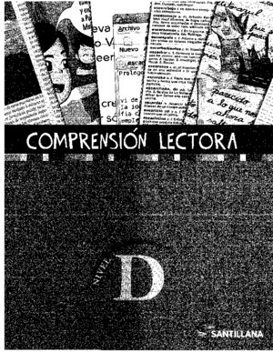 Comprension Lectora - Nivel D - Santillana