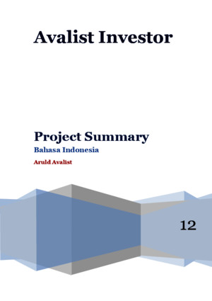 Contoh Project Summary - Indonesia