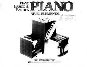 106206170 Bastien Piano Basico Piano Nivel 0 Elemental James Bastien 2