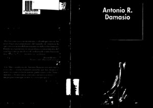Damasio, Antonio - El error de Descartespdf