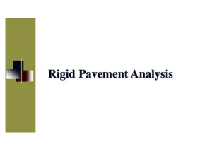 12 Rigid Pavement Analysispdf